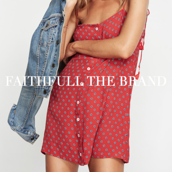 Faithfull the brand summer dresses