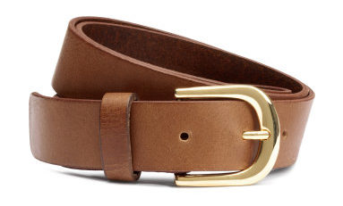 Brown belt from H&M