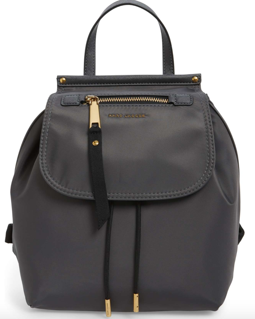Marc Jacobs grey backpack