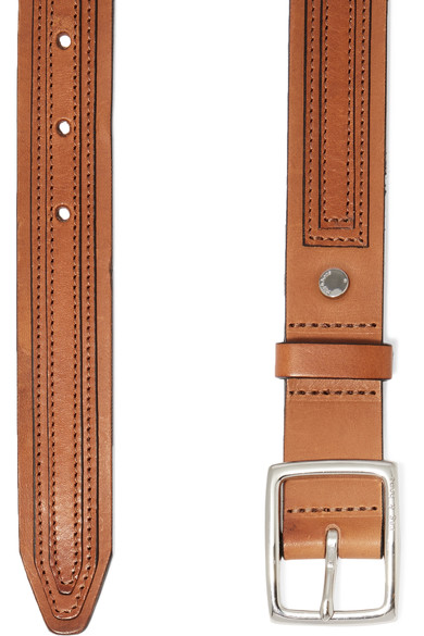 Rag and Bone tiegan leather belt details
