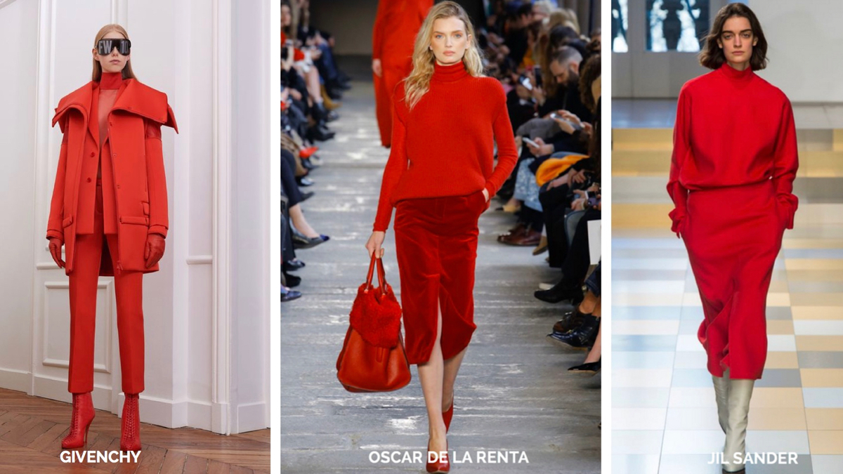 Red Fall 2017 Trend