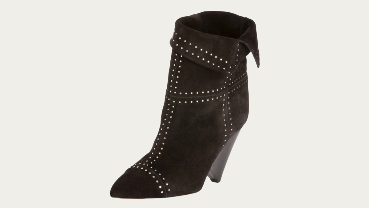 Isabel Marant Lizynn cone heels side view