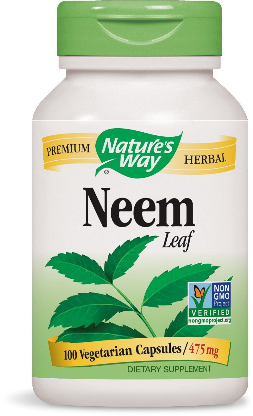 Neem Leaf supplements by Nature's Way